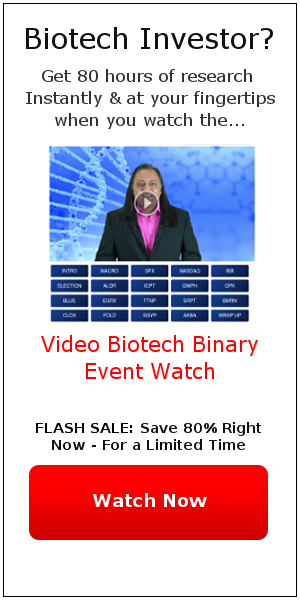Flash Sale Grab the Video Biotech Binary Event Watch for 80% off - Limited Time!