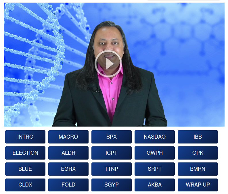 Check out the video Biotech BInary Event Watch